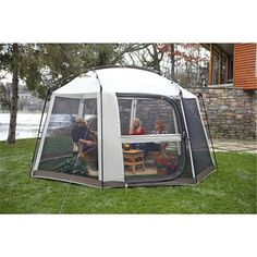 all white gear = Guide Gear(R) Octagonal 13x13 foot Screen House $90