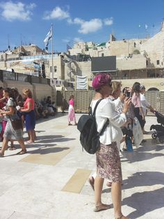 A Jewish Grandmother : Succot at the Kotel