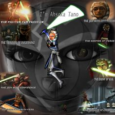 Ahsoka vs Anakin und Obi-Wan -