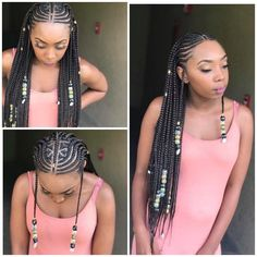 92 Wonderful Tribal Braids Hairstyles Ideas In African American Braided Hairstyles Mandi 5 Fulani Braids Styles We totally Love, 23 Perfect Fulani Braids Hairstyles 2020 for Black Girls, 14 Fulani Braids Styles to Try Out soon. Cool Braid Hairstyles, My Hairstyle, African Hairstyles, Girl Hairstyles, Teenage Hairstyles, Medium Hairstyles, Protective Hairstyles, Big Box Braids, Braids Wig