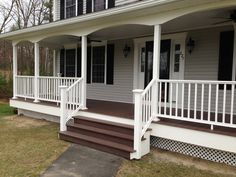 Manchester NH Front Porch is Complete   Allen Remodeling