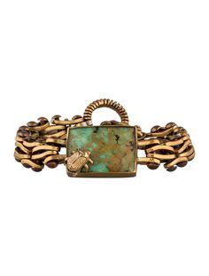 $366.00   Stephen Dweck One of a Kind Beetle Bracelet