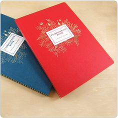 These are my favorite notebooks of all time, they're exquisite. Need to buy some soon...