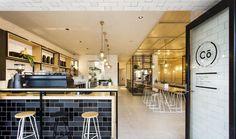 Hutch & Co鐵器店改造的現代咖啡館 漂亮!