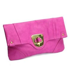 Urban Expressions Chelsea Clutch in Pink