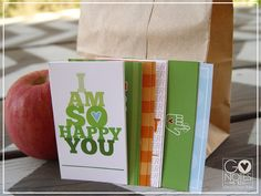 GO Notes for kids. Cute little notes that you can hide in their lunches and other places