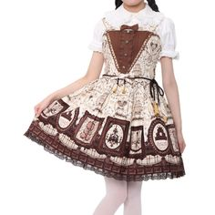 http://www.wunderwelt.jp/products/detail2267.html ☆ · .. · ° ☆ · .. · ° ☆ · .. · ° ☆ · .. · ° ☆ · .. · ° ☆ Musee du Chocolat Dress and headband Angelic pretty ☆ · .. · ° ☆ How to order ☆ · .. · ° ☆ http://www.wunderwelt.jp/blog/5022 ☆ · .. · ☆ Japanese Vintage Lolita clothing shop Wunderwelt ☆ · .. · ☆ #angelicpretty