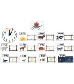 """This vibrant, beloved bulletin board set includes:    25 storytelling pieces (largest approx. 14.5"""" x 5"""")  """"The Very Busy Spider"""" book cover image  A resource guide    ™ & © 2009 Eric Carle LLC. Licensed by Chorion Rights Limited."""