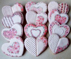Victorian Valentines  www.blue-eyedbakery.com