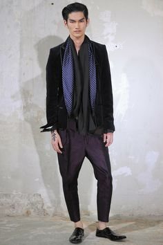 Haider Ackermann | Spring 2014 Menswear Collection | Style.com
