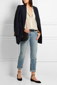 Equipment | Slim Signature silk-georgette shirt | NET-A-PORTER.COM