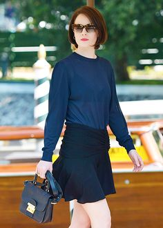 British actress Michelle Dockery arrives at the Excelsior Hotel during the 70th Venice Film Festival on August 31, 2013.