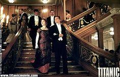 Titanic!  The stairs!
