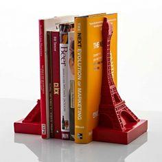 Aparador de Livros Eiffel Vermelho