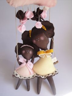 Anele and Fara ooak afro eco friendly Dolls - handmade in Italy - Ecoloriamo S/S 2012 collection. $46.00, via Etsy.