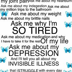 It's not about pity its about awareness. Hypothyroid.