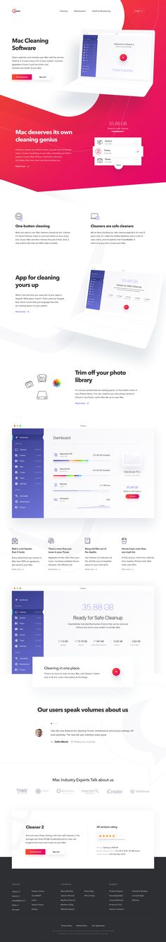 Product Page on Behance