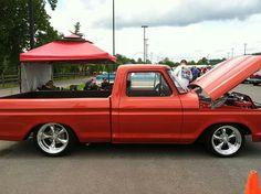 Red 1979 Ford Truck, Ford Pickup Trucks, New Trucks, Custom Trucks, Cool Trucks, Sport Truck, Classic Ford Trucks, Ford F Series, Old Fords