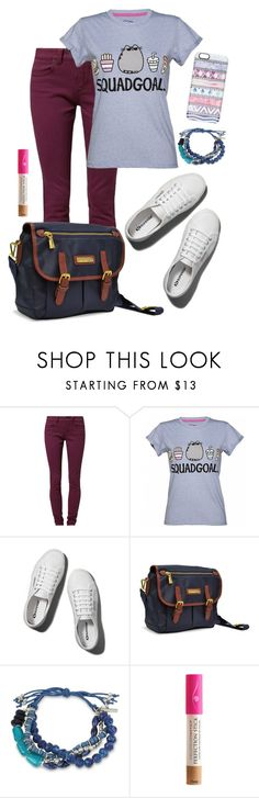 """back to school #2"" by deliag ❤ liked on Polyvore featuring TWINTIP, Pusheen, Abercrombie & Fitch, Adrienne Vittadini, Kenneth Cole, Amazing Cosmetics and Casetify"