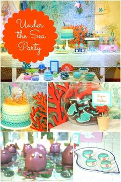 Under the Sea Themed Boys Birthday Party and 10 More Awesome Boy Birthday Party Themes