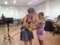 Mostra d'instruments a l'Escola MiD (11-6-2014)