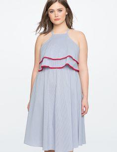 Double Layer Easy Dress   Women's Plus Size Dresses   ELOQUII
