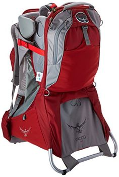 Osprey Packs Poco - Plus Child Carrier (2015 Model) (Romper Red, One Size) *** READ MORE DETAILS @: www.best-outdoorg...