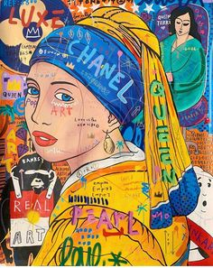 Illustrations, Graphic Illustration, Pop Art, Ancient Egypt Art, Art Hoe Aesthetic, Mediums Of Art, Newspaper Art, Teen Art, S Bahn