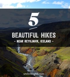 5 hikes near Reykjavik, Iceland