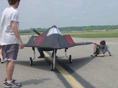 The stealth F117 Nighthawk on an actual runway! Build your own with this PBL card, free today only! How To Start Running, Build Your Own, Recipe Cards, Picnic Table, Wings, Runway, Challenges, Learning, School