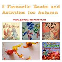 Playful Learners: 5 of our Favourite Books and Activities for Autumn