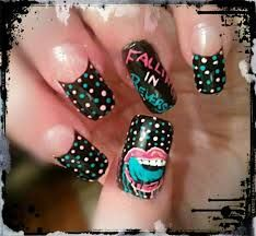 Falling in Reverse nails.
