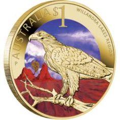 Celebrate Australia – World Heritage Sites – Willandra Lakes Region 2012 $1 Coin