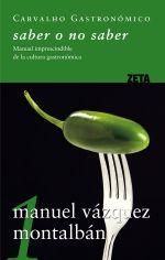 Enciclopèdia Carvalho gastronòmico (5 Volums). Manuel Vázquez Montalbán. Ediciones B.