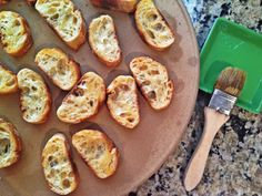 Bruschetta with Ricotta and Pesto | The Floating Kitchen