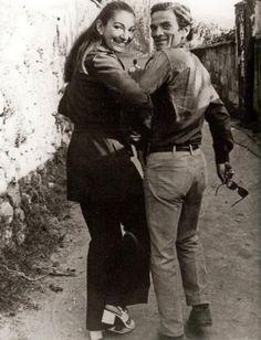 Pier Paolo Pasolini & Maria Callas