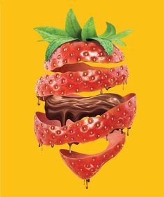 Strawberry on Behance