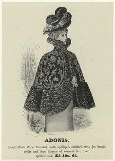 Fur Fashions -- 1800s