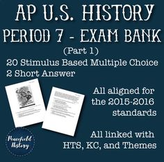 64 Best Period 7 - APUSH images in 2019 | Period, American History