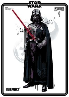 ADDICT STAR WARS Vader by Mitchy Bwoy art #starwars #jedi #theforce