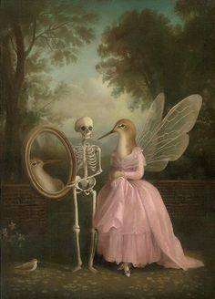 Find images and videos about art, painting and surrealism on We Heart It - the app to get lost in what you love. Art And Illustration, Portrait Illustration, Art Illustrations, Fashion Illustrations, Arte Peculiar, Renaissance Kunst, Creation Art, Arte Horror, Wow Art