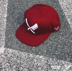 14f0e694f55 DP Snapback Red White Snap Backs