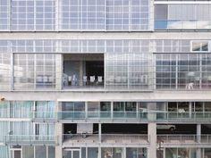 Ecole d& de Nantes - Lacaton Vassal - Arch_facades - [post_tags Urban Architecture, Commercial Architecture, Commercial Interior Design, School Architecture, Green Facade, Built Environment, Urban Design, Windows And Doors, Delft
