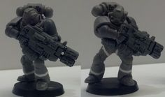 Leave No Model Unconverted: The 31mm Space Marine Project - Page 7 - + WORKS IN PROGRESS + - The Bolter and Chainsword