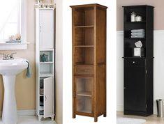 Amazing Narrow Bathroom Cabinets 1 Tall Storage Slimline