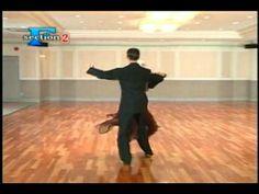 ▶ Ballroom slow waltz lesson HD version part 2 - YouTube