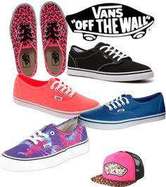 """Vans"" by hhatton on Polyvore"