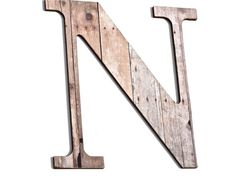 Wooden Letter N, Wood Grain, Crafting Paper, Initials, Country, Rustic, Chic Decor, Wall decorative Letters on Etsy, $29.00