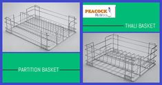 Bring Home Stainless Steel Kitchen Baskets To Embellish Your Kitchen Moreover, the exciting offers presented of the immense collection of Kitchen Baskets for Sale these days is a great opportunity to choose the suitable one for you. Kitchen Baskets, Elegant Kitchens, Stainless Steel Kitchen, Kitchen Accessories, Household, Cupboards, Space, Opportunity, Drawers