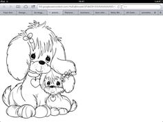 Dog Coloring Page Pages Cat Quote Colouring Sheets Books
